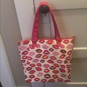 Avon kiss tote bag